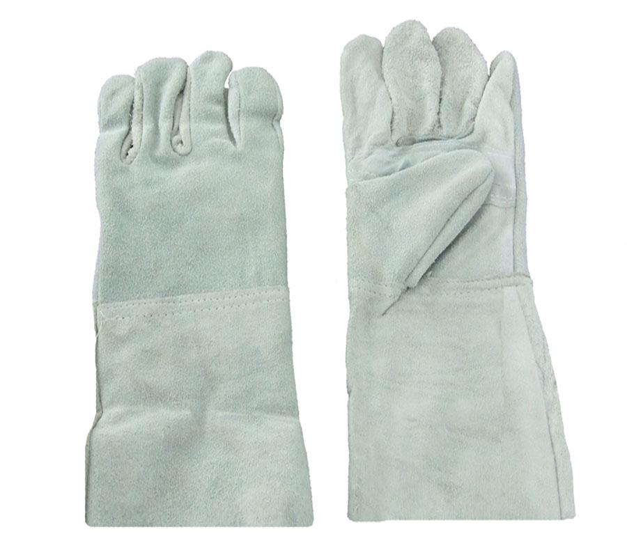 ถุงมือหนังยาว 12 นิ้ว