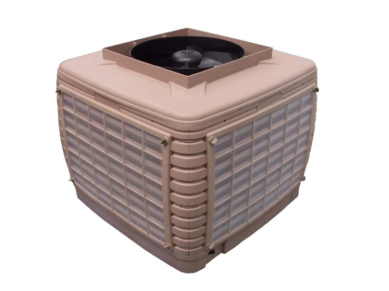 KS2P-18C10-AO : Evaporative air cool (Airflow 18,000 m3/hr) Top Discharge